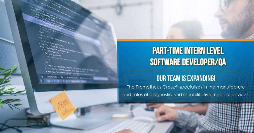 Intern Level Software Developer Posting 1